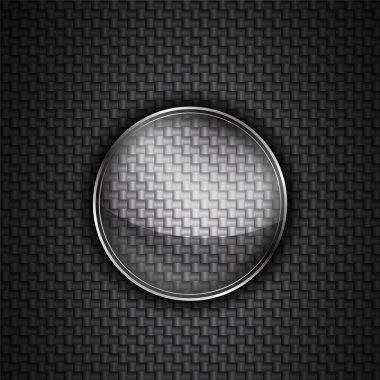 Techno circle background