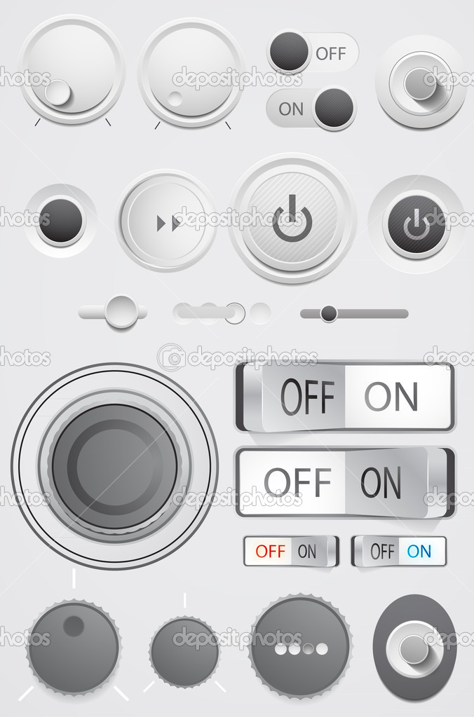 Vector user interface collection
