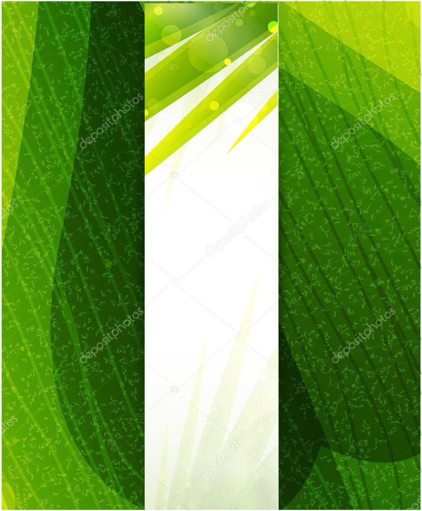 Vector green leaf texture