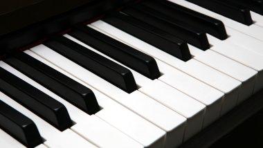 Keyboard of Piano