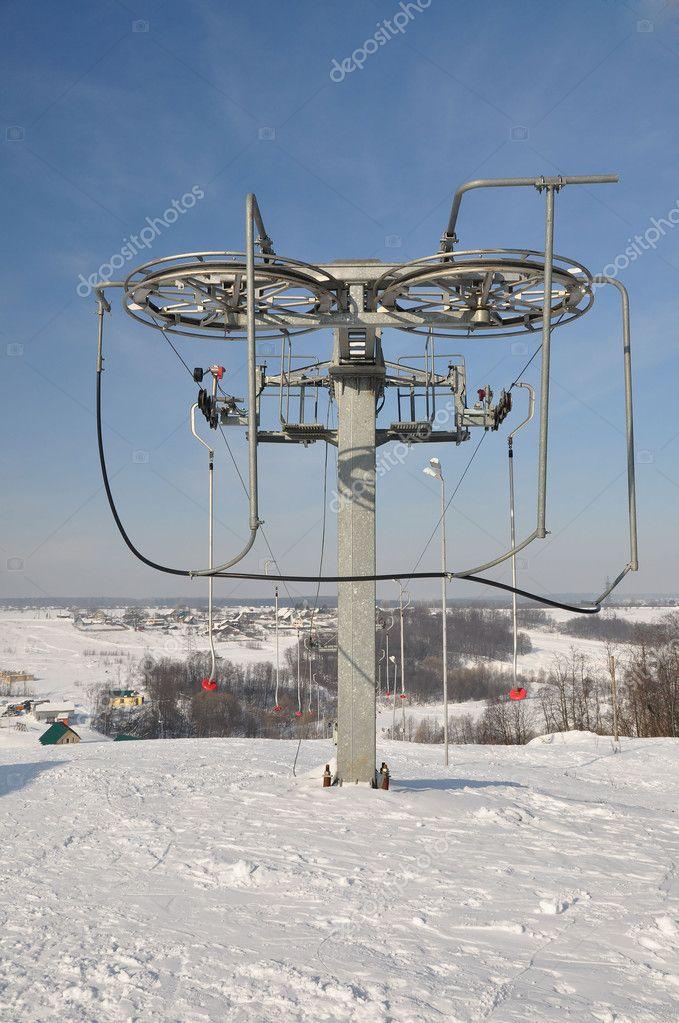 Ski lift.