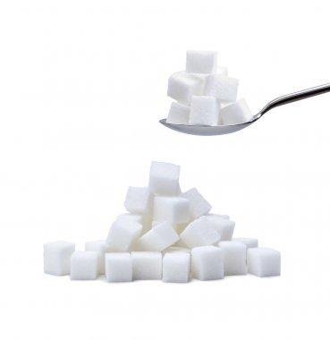 Refined cube sugar
