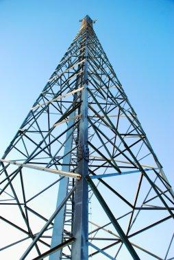 Radio tower, mobile base