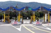 Fotografie Toll gate in Croatia