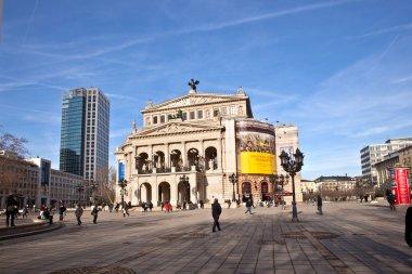 Famous Opera house in Frankfurt