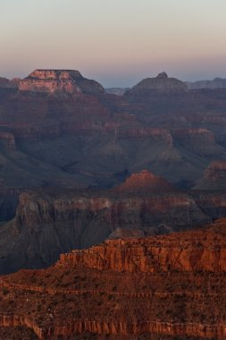 Fantastic view into the grand canyon from mathers point, south r