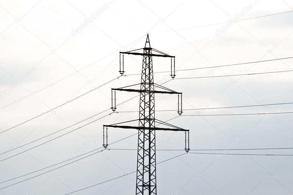 Elektrische Toren In De Winter Op Flatland Met Merken Van De Auto In
