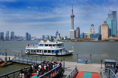 River water bus in Shanghai.