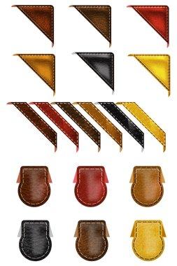 Leather Web Angle Corners