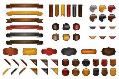 Leather Webdesign Kit
