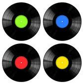 collezione di dischi di vinile