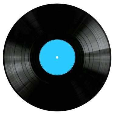 Vinyl Record with BlueLabel