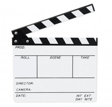 Clapperboard (with Path)