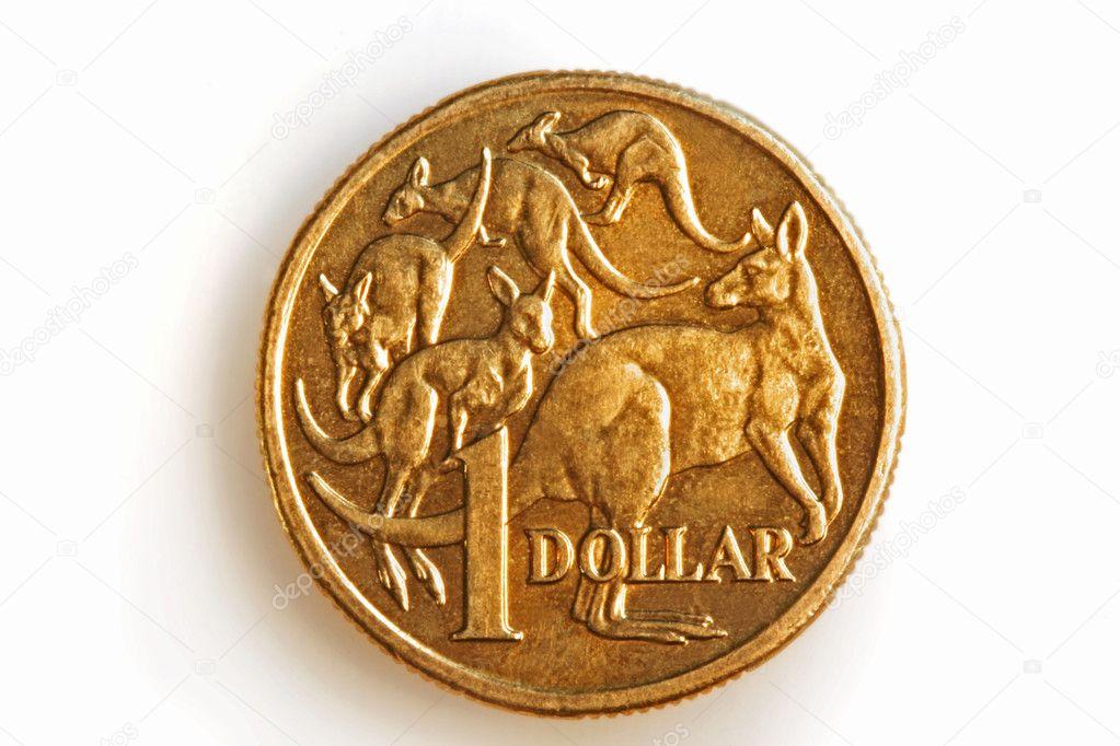 Australischen 1 Dollar Münze Stockfoto Robynmac 5525409