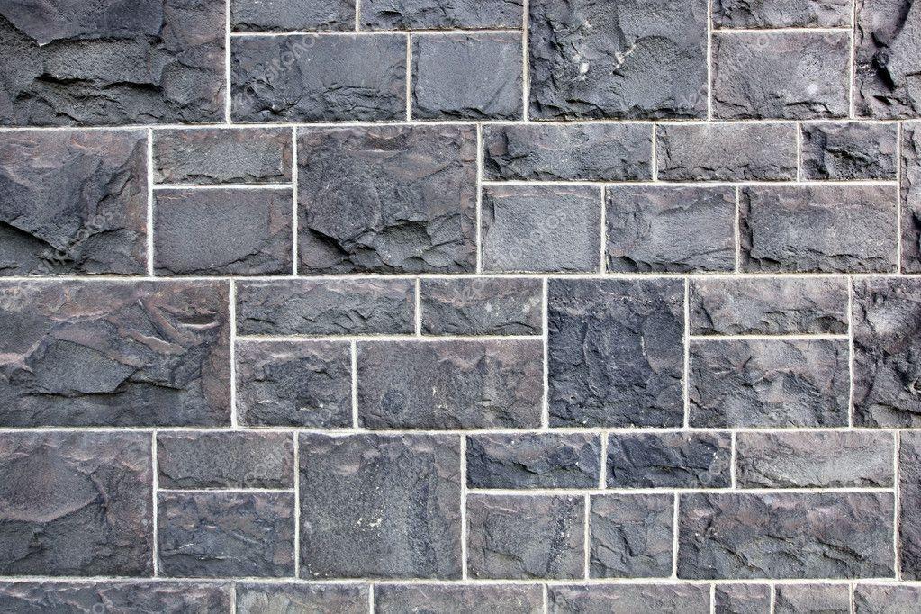 Bluestone wall stock photo robynmac 5528405 for Blue stone
