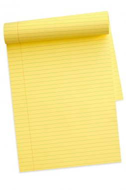 Yellow Notepad (with Path)