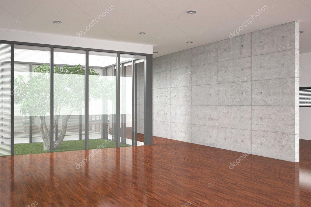 Moderne Leeren Inneren Mit Parkettboden Stockfoto C Anhoog 5780328