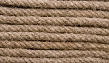 Old Yellow Rope Background