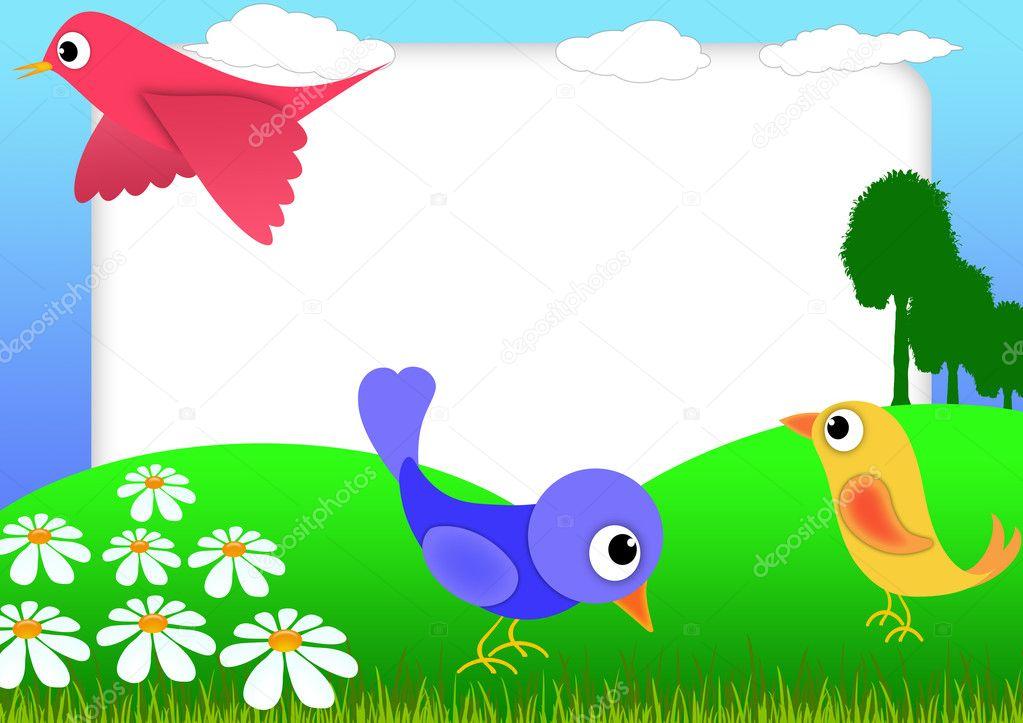 Bird scrapbook — Stock Photo © walex101 #5503917