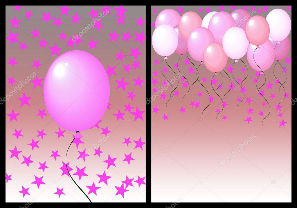 Gelukkige Verjaardag Groeten Kaart Voor En Achterkant Vrouw