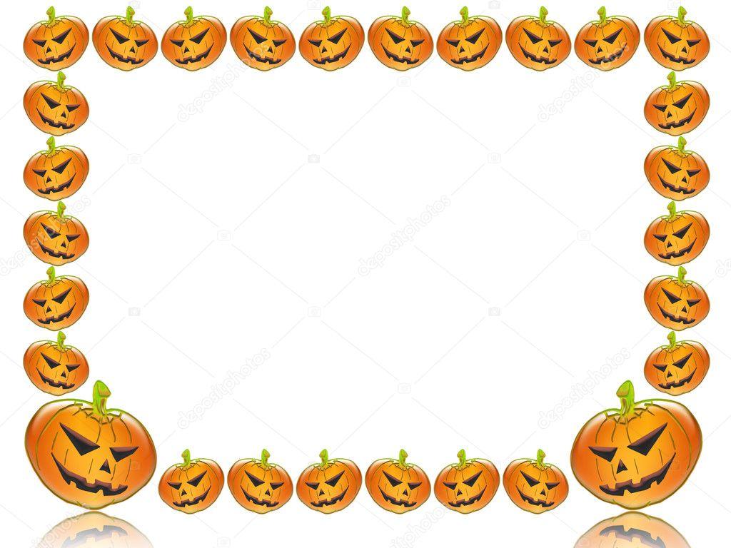 Halloween frame — Stock Photo © walex101 #6430480