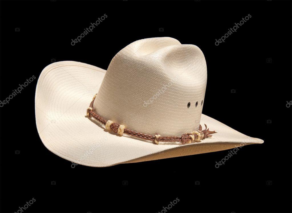 sombrero vaquero blanco — Fotos de Stock © okiepony  5869791 de1bb180373