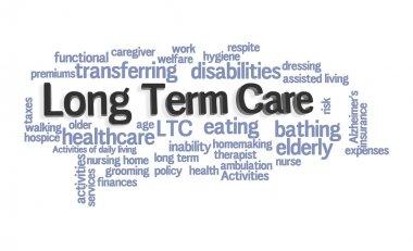 Long Term Care Word Cloud