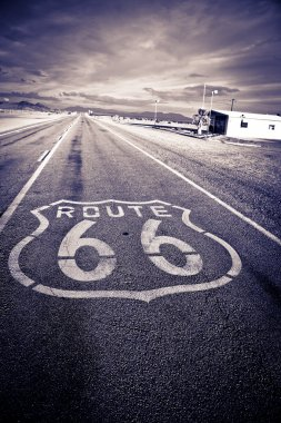 Historic Route 66.