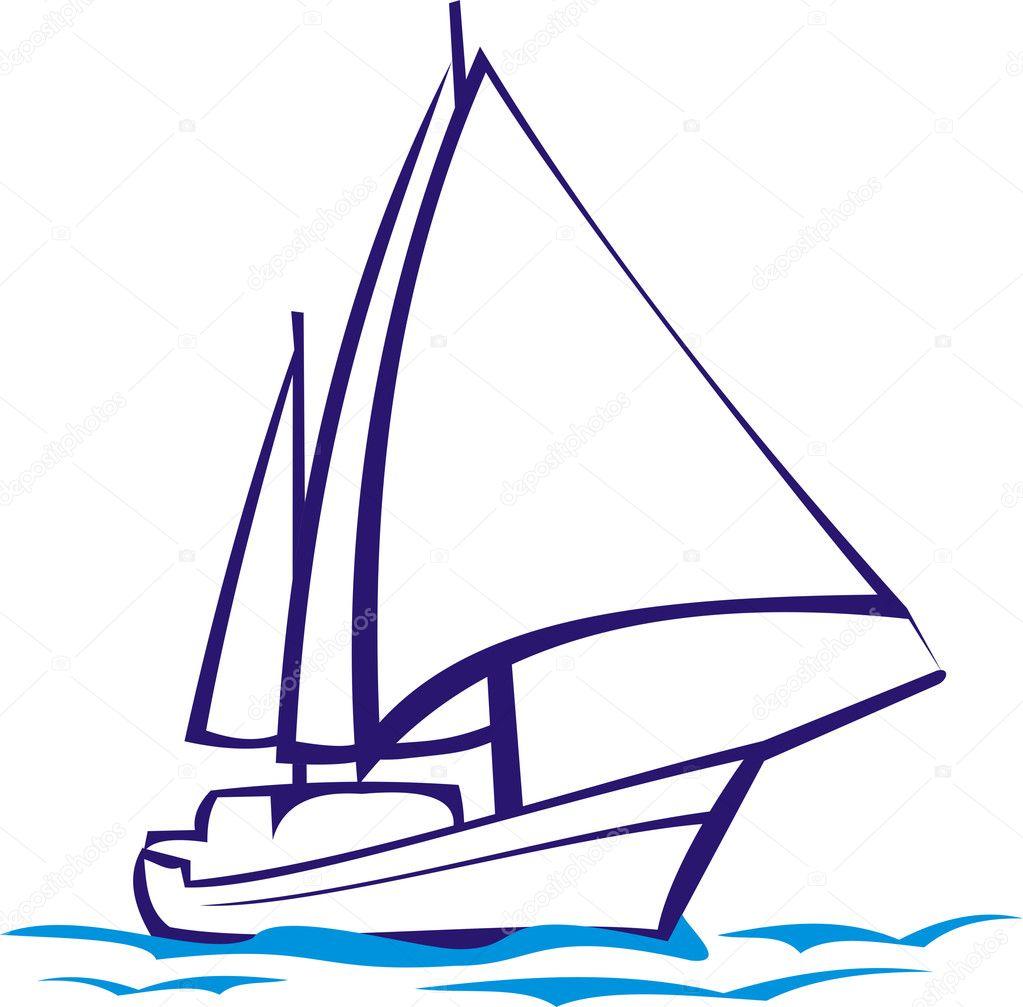 yacht clipart - photo #45