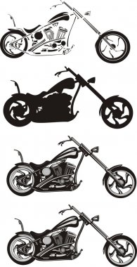 Chopper - motorcycle