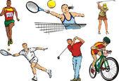 Fényképek Egyéni sportolók - kültéri