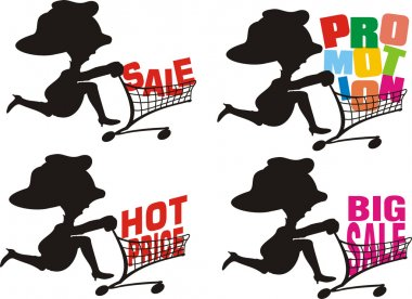 Sale, promotion, hot price