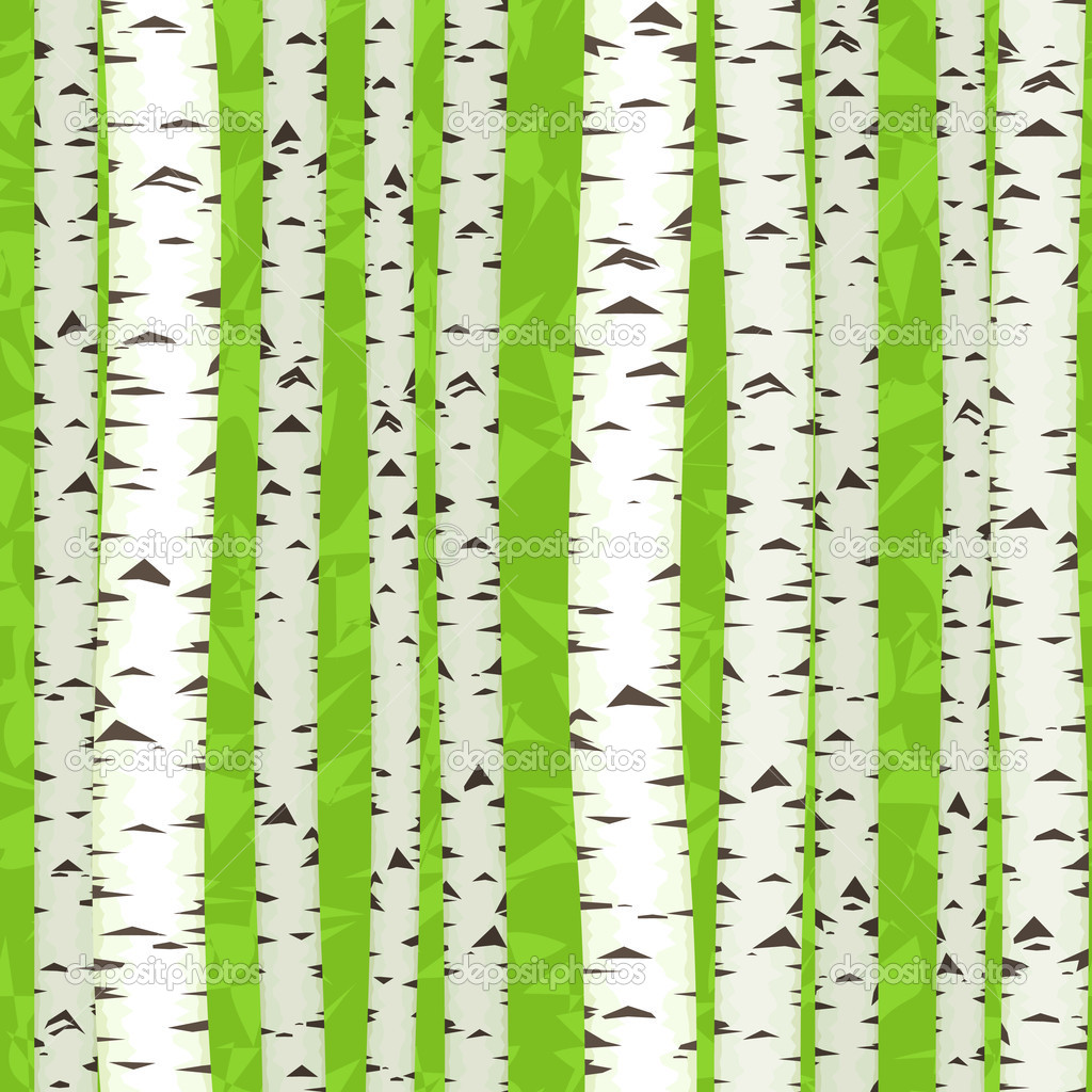 Birch Stems seamless,