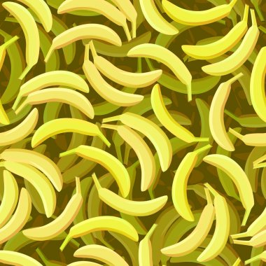 Seamless banana background