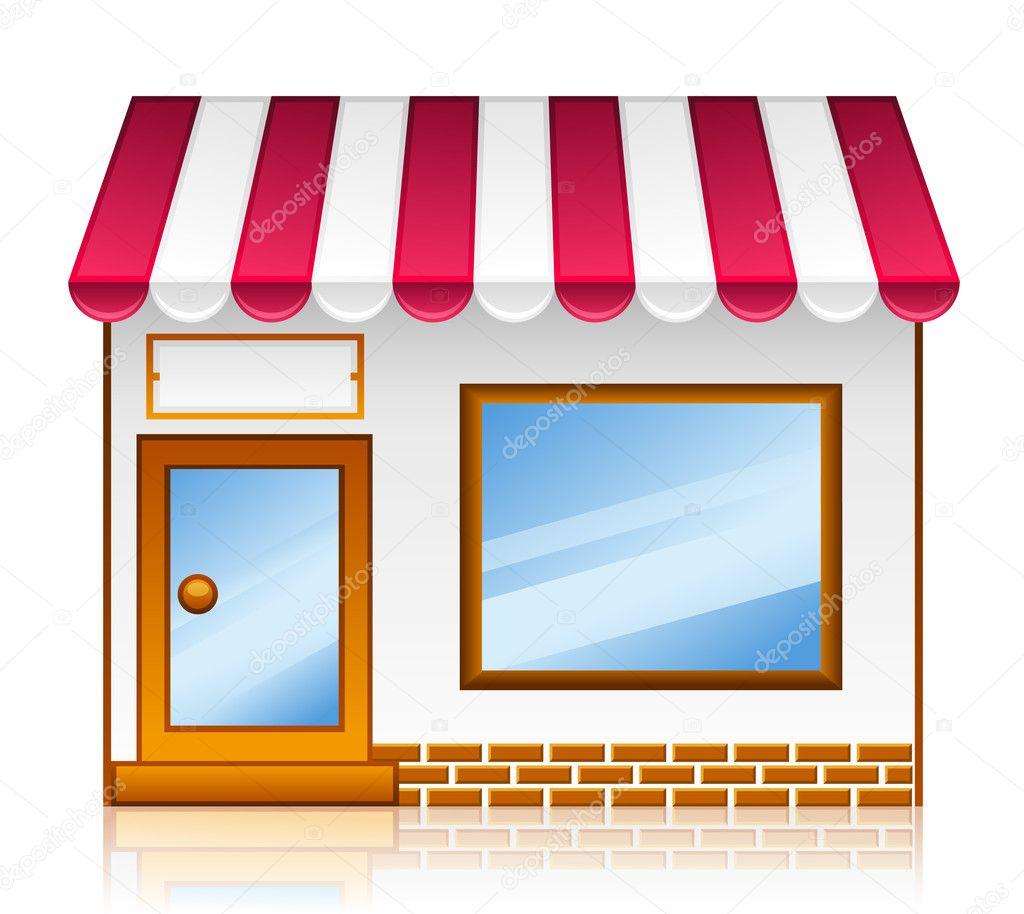 Здание магазина картинки для детей на прозрачном фоне