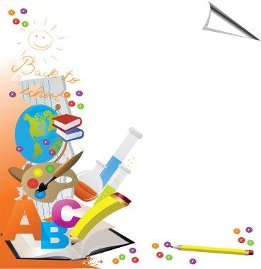 Back to School Design - Vector