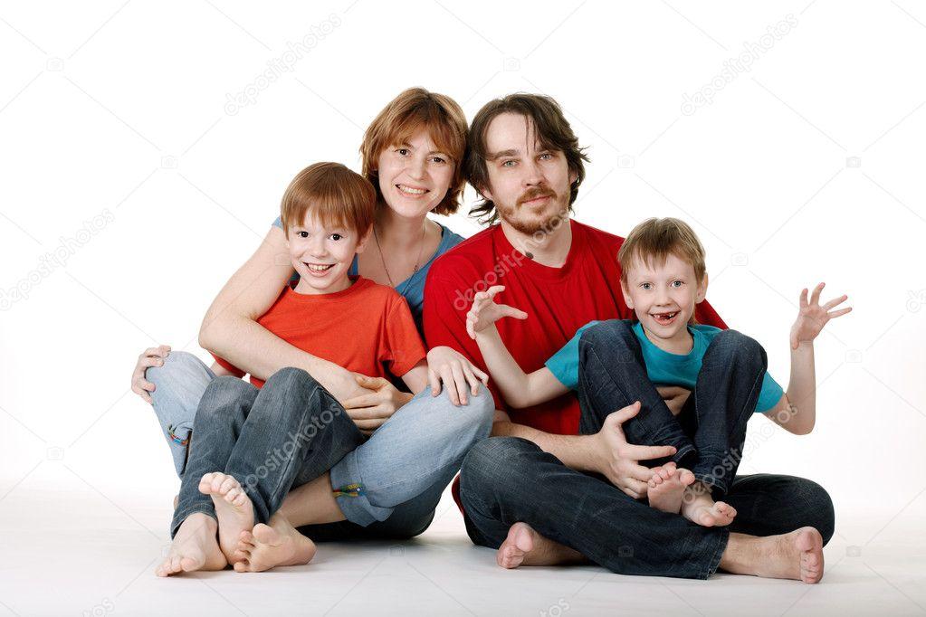 Weird Family Stock Photos 10