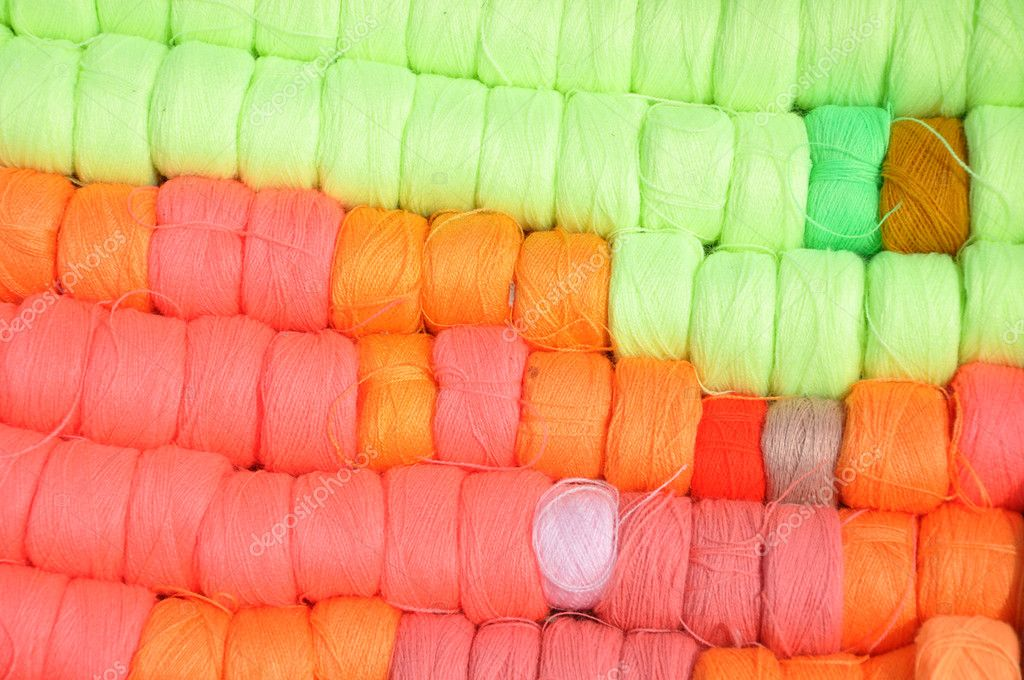 Folk art, yarn