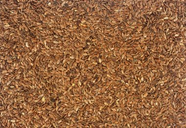 A texture from a flax seeds