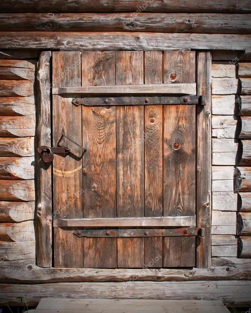 wooden door stock photo preto perola 6481093. Black Bedroom Furniture Sets. Home Design Ideas