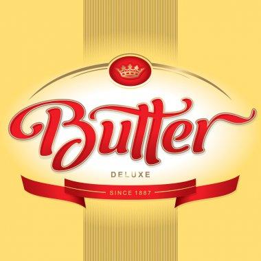 Butter packaging design (vector)
