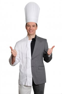 Chef and businessman