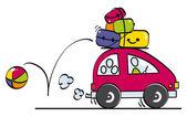 podivná rodina jede na dovolenou