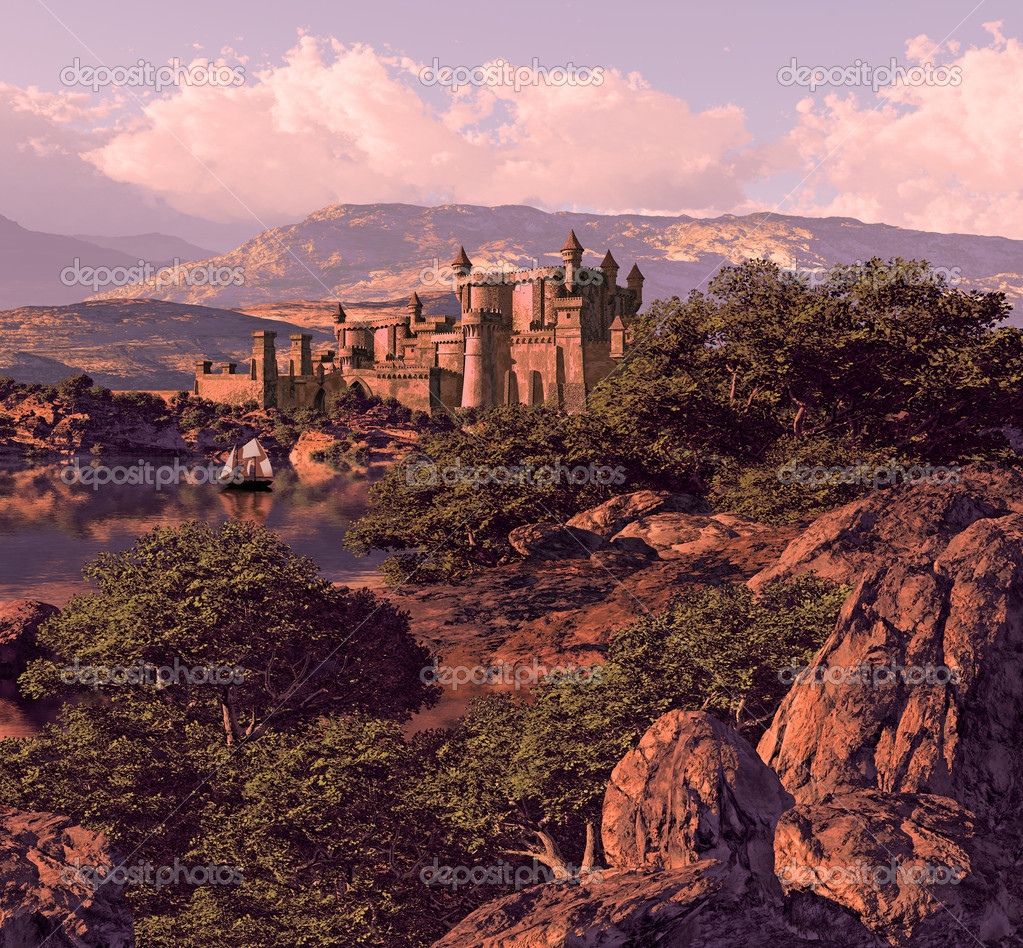 Spanish Castle Landscape