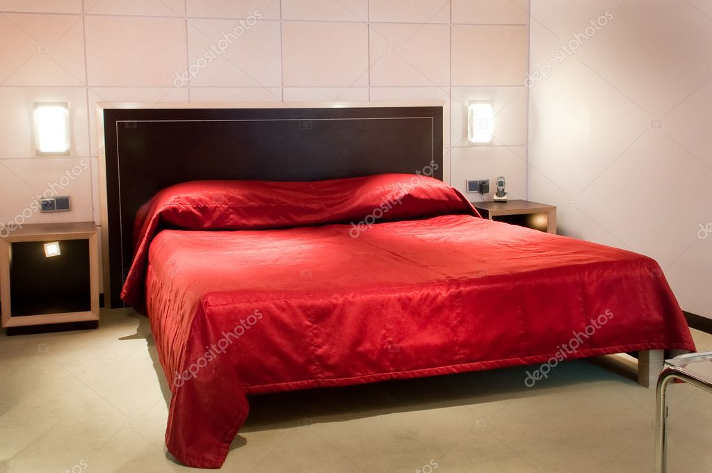 This is a photograph of a bed in a five star hotel