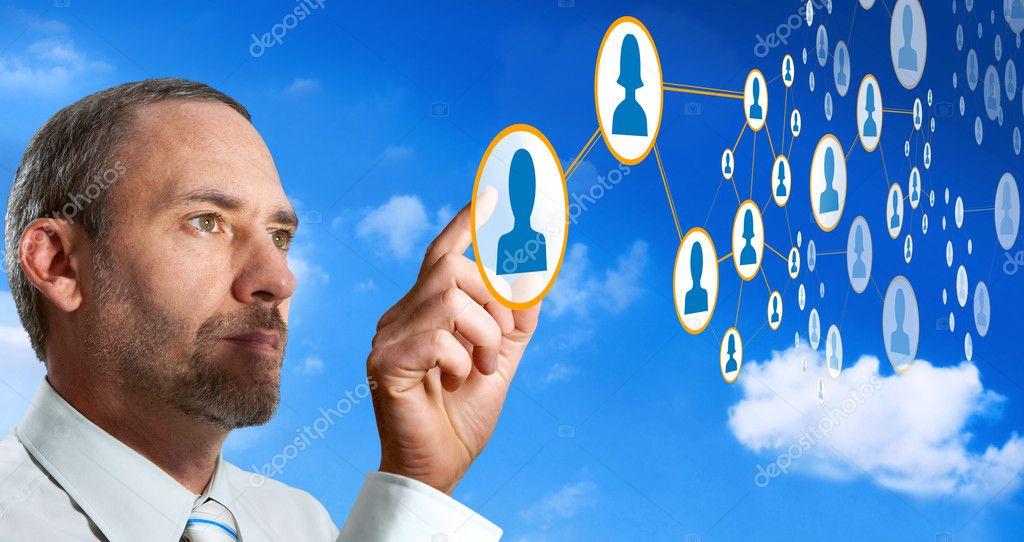 Futuristic Cloud Computer network