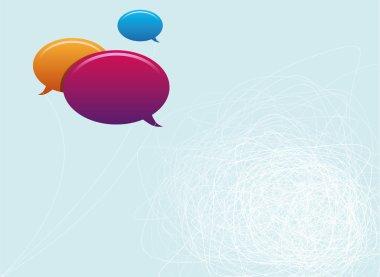 Speech Bubbles Copy Space