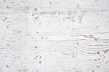 White painted old wooden texture