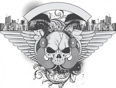 Grunge Urban Illustration