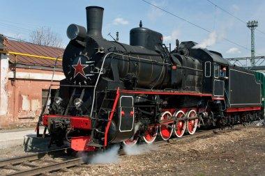 Working steam locomotive